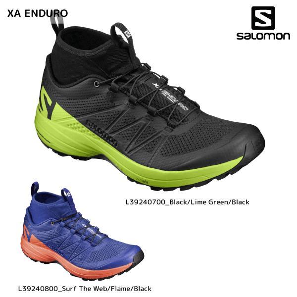 Salomon XA Enduro | Men's BlackLime GreenBlack L39240700