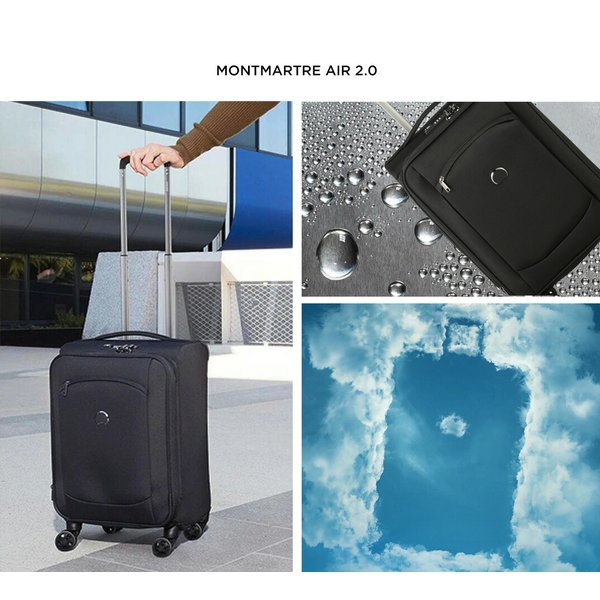 スーツケース 機内持ち込み Delsey デルセー ソフト sサイズ キャリーケース 小型 43L 容量拡張 超軽量 洗濯可能 ZST MONTMARTRE AIR 2.0 5年国際保証|linkhoo-store|04