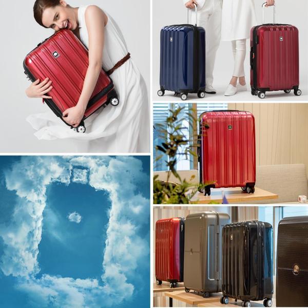 スーツケース Delsey デルセー 機内持ち込みサイズ キャリーバッグ フロントオープン 軽量 42L 1〜3日 ハードスーツケース HELIUM AERO 5年保証 TSA 8輪|linkhoo-store|04