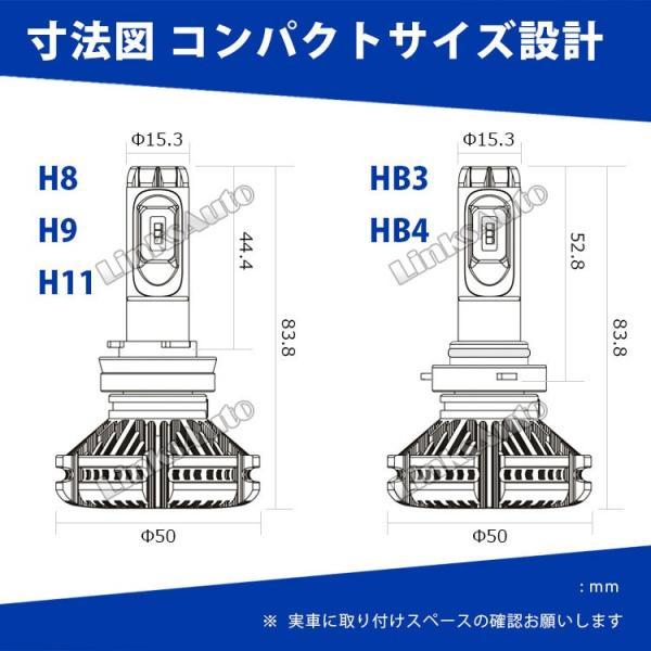 NISSAN フェアレディZ H1.7〜H10.10 Z32 フォグ LEDヘッドライト H3 LinksAuto 2nd最新PLUS JA-X3 高輝度6000Lm 車検適合 2年保証 2灯|linksauto|13
