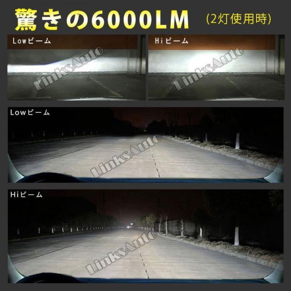 NISSAN フェアレディZ H1.7〜H10.10 Z32 フォグ LEDヘッドライト H3 LinksAuto 2nd最新PLUS JA-X3 高輝度6000Lm 車検適合 2年保証 2灯|linksauto|14
