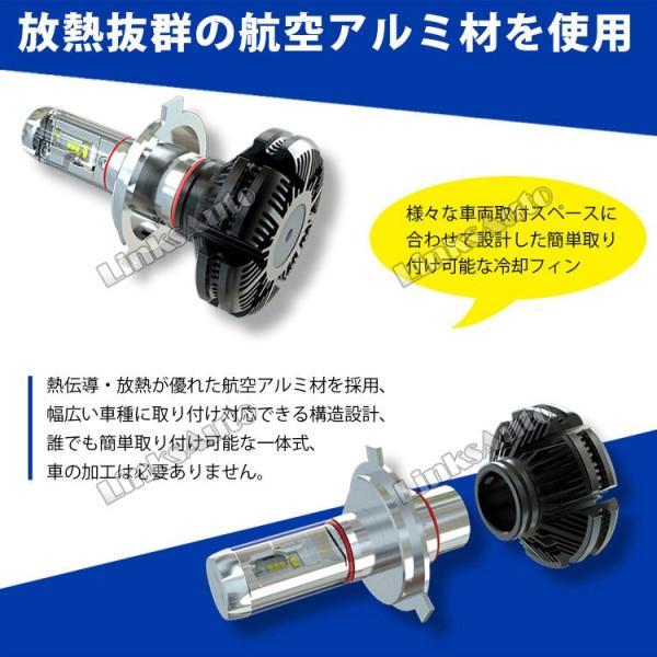 NISSAN フェアレディZ H1.7〜H10.10 Z32 フォグ LEDヘッドライト H3 LinksAuto 2nd最新PLUS JA-X3 高輝度6000Lm 車検適合 2年保証 2灯|linksauto|08