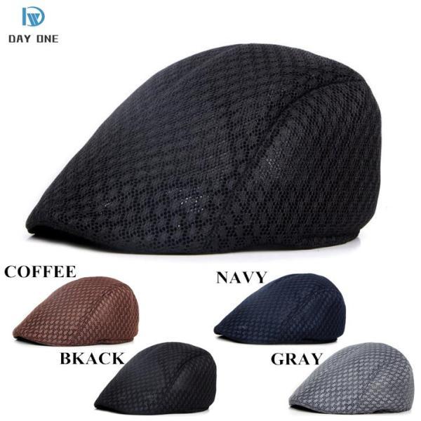 ハンチング帽子メンズ帽子帽子ぼうし通気日よけ軽量UVカット赤外線防止ネット穴タイプ夏帽子アウトドア海キャンプ消化