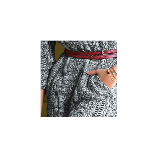 ★クルーネックケーブルニットワンピースドレス★【victoria's secret・ビクトリアシークレット】|liondress-y|03