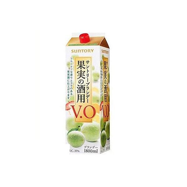 サントリー 果実の酒用   V・O 35度 パック 1800ml 1.8L 1本|liquor-boss1