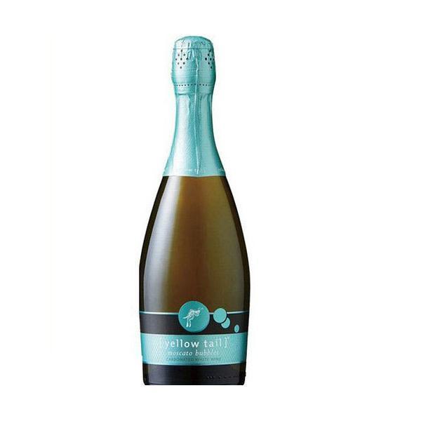 ワイン 泡 オーストラリアワイン イエローテイル モスカート・バブルス 白 甘口 750ml×6本/1ケース wine|liquor-boss1