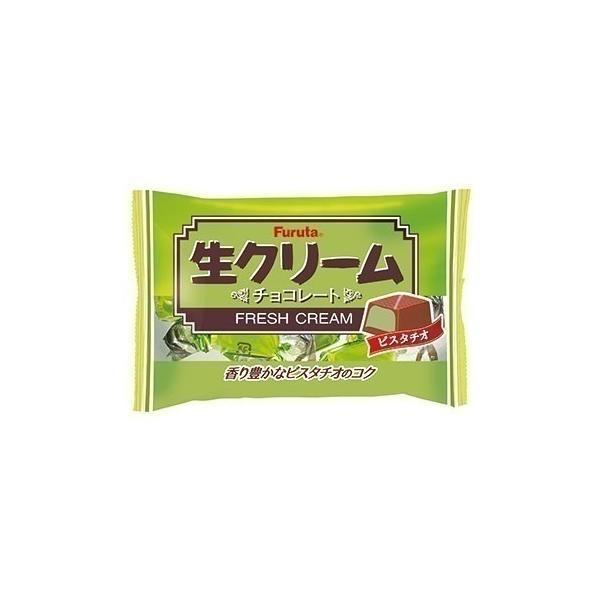 送料無料 フルタ製菓 生クリームチョコピスタチオ 19個入り×32袋(2ケース)