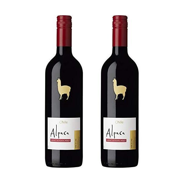 サンタ・ヘレナ・アルパカ カベルネ・メルロー [ 赤ワイン ミディアムボディ チリ 750ml 2本 ] 全国送料無料 ポイント消費に ギフト発送、ラッピング不可|liquorgto