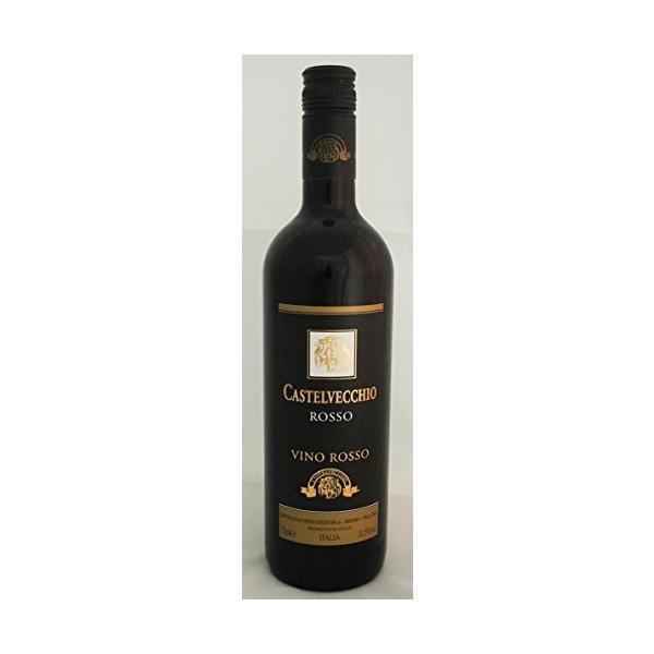 イタリアワイン カステルベッキオ ロッソ VDT 750ml 12本入り 1ケース 全国送料無料|liquorgto|02