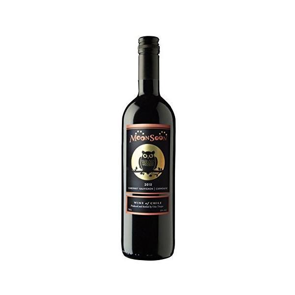 赤ワイン チリ モンスーン カベルネソーヴィニヨン&カルメネール 750ml 2本セット 全国送料無料 ポイント消費 ポイント消化に|liquorgto|02