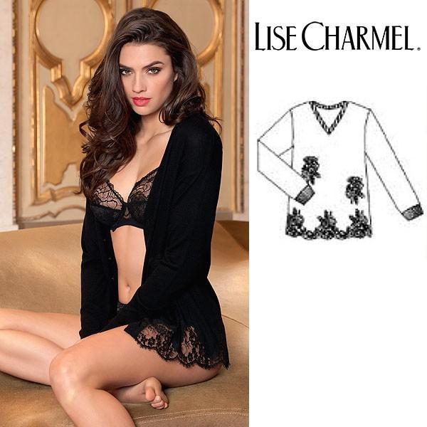 リズシャルメル LISE CHARMEL ニットセーター カシミア・シルク 品番ALC5389 インポートランジェリー lisecharmel