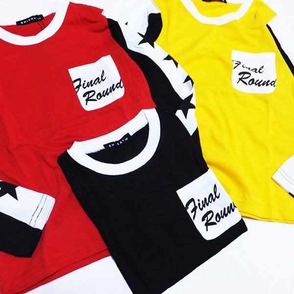 【メール便送料無料】長袖Tシャツ ロングTシャツ SHISKY シスキー 男の子 子供服 お揃い 衣装 ダンス 韓国子供服 メール便対応(149-03)2019AT|little-angel|03