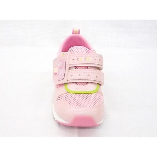 ムーンスター キャロット CR C2175 ピンク 18.0cm moon STAR マジック式スニーカー|little-shoes-shop|04