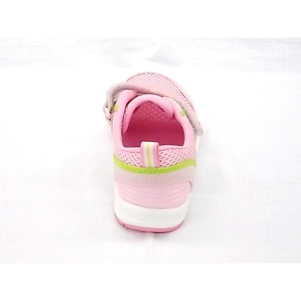 ムーンスター キャロット CR C2175 ピンク 18.0cm moon STAR マジック式スニーカー|little-shoes-shop|06
