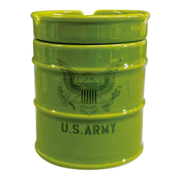 NEWドラム缶灰皿 ARMY AR-1426-2 little-trees