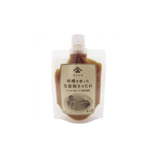 (代引不可)蔵代味噌監修 味噌を使った生姜焼きのたれ 180g 6個セット