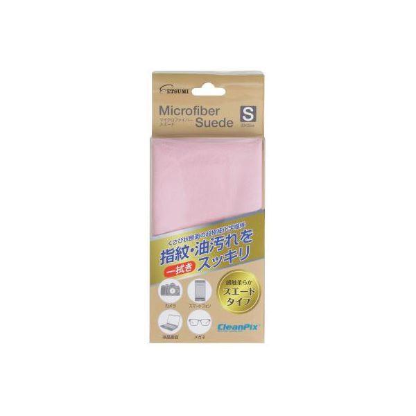 (まとめ)エツミ マイクロファイバースエードS ピンク E-5213〔×5セット〕