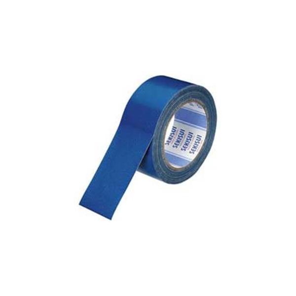 (業務用100セット) セキスイ 布テープ No600V N60AV03 50mm×25m 青