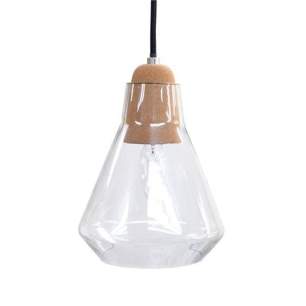 ペンダントライト/照明器具 〔1灯/Aタイプ〕 ガラス製 レトロ ELUX(エルックス) Colook 〔電球別売〕〔代引不可〕