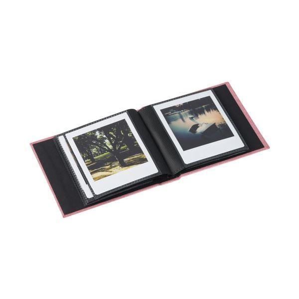 (まとめ) エツミ フォトアルバム エポカ チェキスクエア対応 20枚用 レッドVE-5504 〔×10セット〕