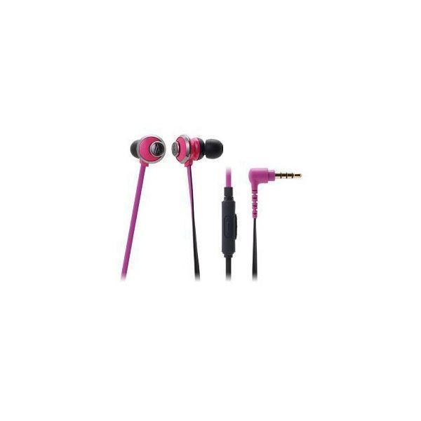 Audio-Technica オーディオテクニカ スマートフォン用インナーイヤーヘッドホン ATH-CKF77iS PK