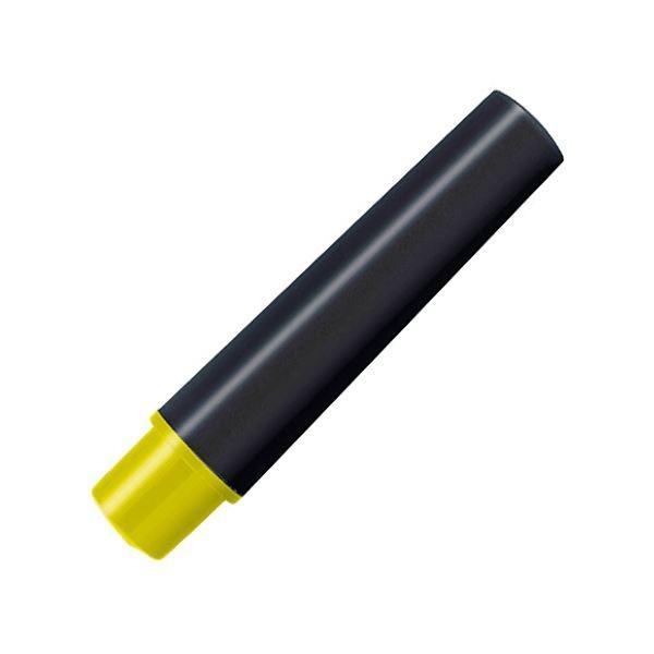 (まとめ) ゼブラ 水性マーカー紙用マッキー(太+細)用インクカートリッジ 黄 RWYT5-Y 1パック(2本) 〔×50セット〕