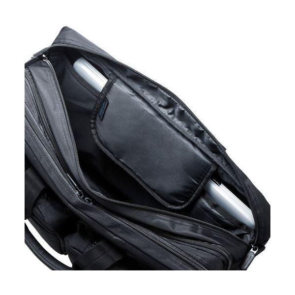 サンワサプライ3WAYビジネスバッグ(出張用・大型) 15.6インチワイド対応 ブラック BAG-3WAY22BK 1個