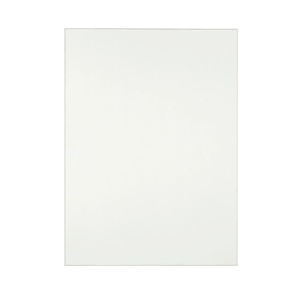 (まとめ) TANOSEE 模造紙(プルタイプ) 詰替用 788×1085mm 無地 再生ホワイト 1セット(60枚:20枚×3本) 〔×5セット〕