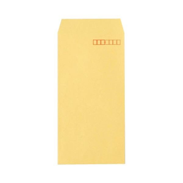 TANOSEE R40クラフト封筒 長3 70g/m2 〒枠あり 業務用パック 1箱(1000枚) 〔×10セット〕