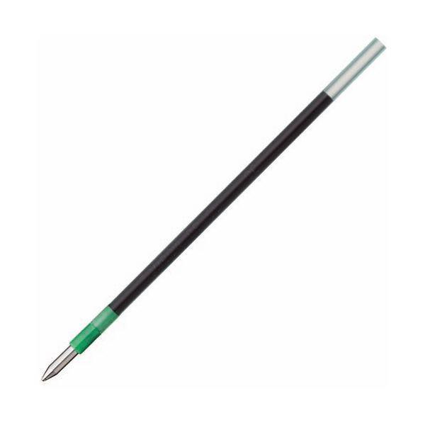 (まとめ) トンボ鉛筆 油性ボールペン替芯 CL 0.7mm 緑 リポータースマート用 BR-CL07 1セット(5本) 〔×30セット〕