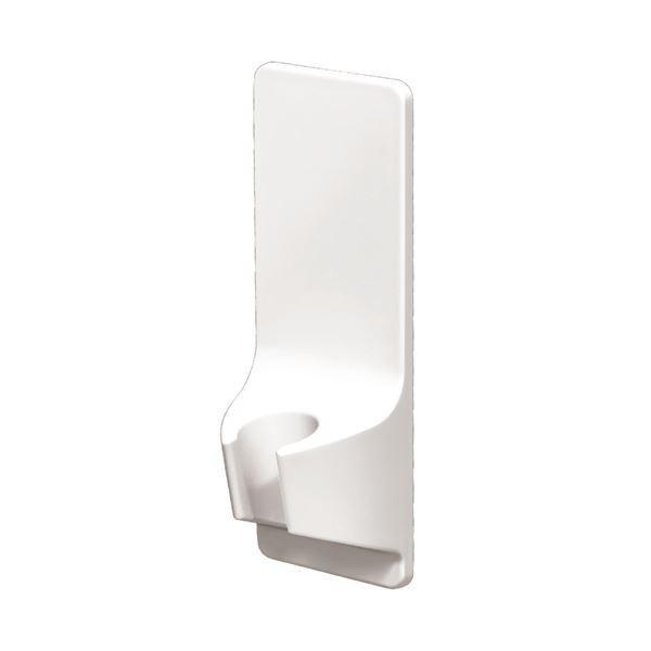 マグネット取付け シャワーフック/シャワー掛け 〔約幅6.2×奥行4.6×高さ16.8cm〕 浴室収納シリーズ RAXE 〔48個セット〕