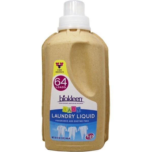 エコボトル ランドリーリキッド/洗濯洗剤 〔ベビー〕 946ml×2本セット アメリカ製 『biokleen』 〔洗濯用品 ランドリー用品〕