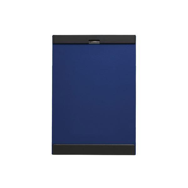 (まとめ) キングジム クリップボード マグフラップ A3判 A3E 青 〔×3セット〕