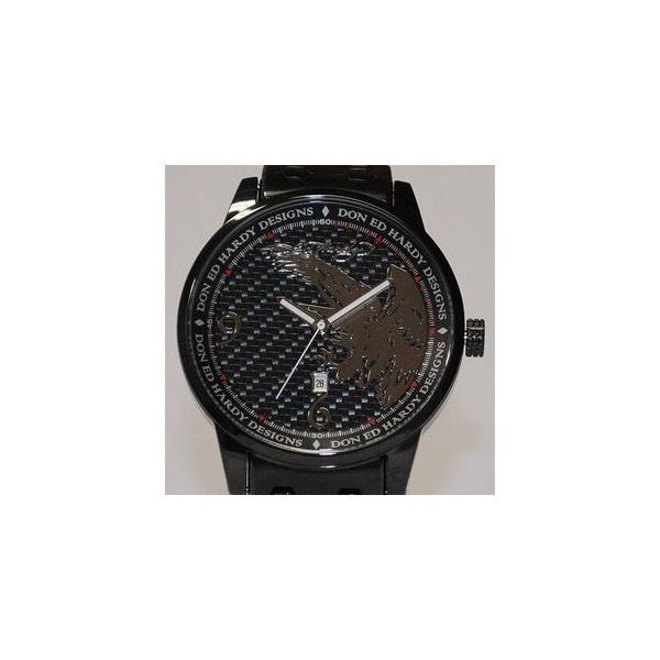 サファリ11月号掲載 エドハーディー腕時計〔ED HARDY〕Ed Hardy Watch STELLER2シリーズ〔ST2-BK〕