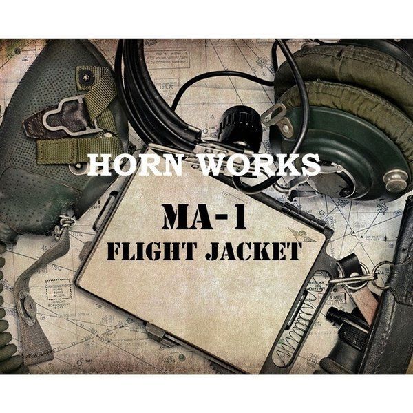 Horn Works 本革 レザーMA-1 フライトジャケット メンズ ホーンワークス 3401  ミリタリージャケット フライトジャケット レザージャケット 革ジャン トップガン|liugoo|02
