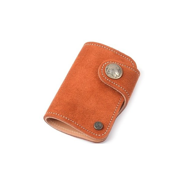 9e66f735a49a ... カードケース コロラド スウェード メンズ 本革 KC's KSC510F 本革ウォレット 本革製財布 ...