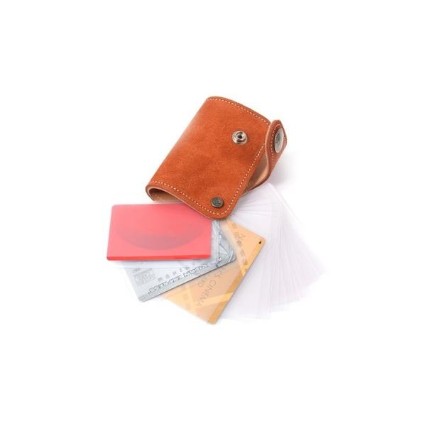 19ffc47c7e5a ... カードケース コロラド スウェード メンズ 本革 KC's KSC510F 本革ウォレット 本革製財布