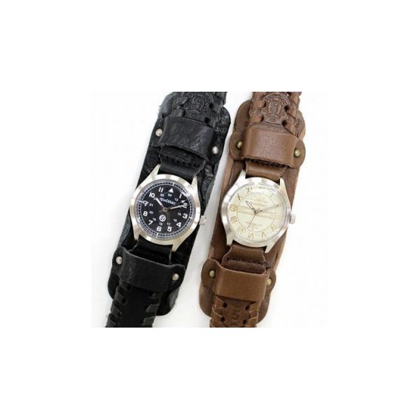 a3f99232a8 ... 2WAYサイドレザー巻きウォッチ メンズ 本革 quitter QTW035BK 腕時計 ウォッチ 革ジャン・革製品