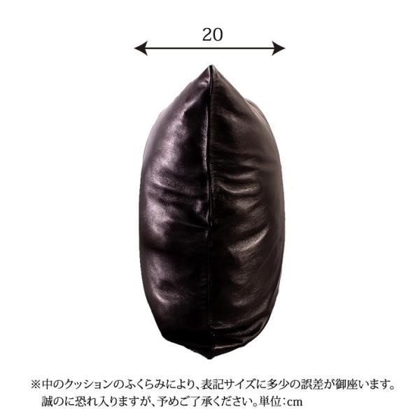 LIUGOO 本革 クッションカバー 男女兼用 リューグー ITG01A   クッション カウチ ソファー 角型 四角|liugoo|18