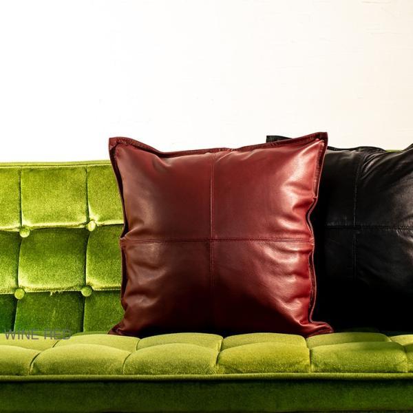 LIUGOO 本革 クッションカバー 男女兼用 リューグー ITG02A クッション カウチ ソファー 角型 四角|liugoo|11