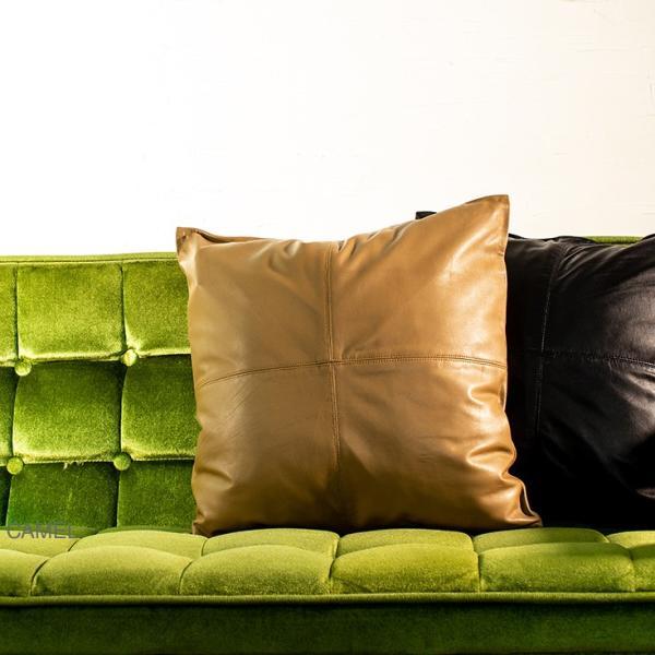 LIUGOO 本革 クッションカバー 男女兼用 リューグー ITG02A クッション カウチ ソファー 角型 四角|liugoo|10