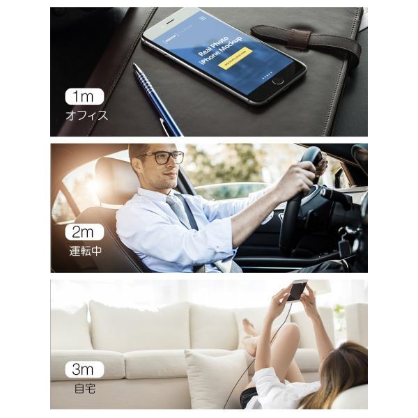 iPhone XS 充電ケーブル 1m 2m 3m 3本セット iPhone X USBケーブル L型 iPhone XS Max XR ケーブル アイフォン USB充電ケーブル iPhone充電器 高耐久|livelylife|07