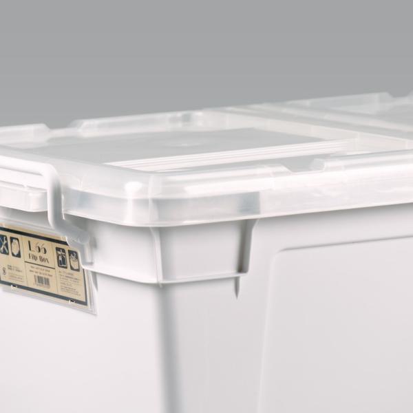 数量限定 収納ボックス フタ付き プラスチック フリップボックスL66|livewell|13