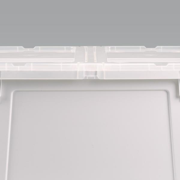 数量限定 収納ボックス フタ付き プラスチック フリップボックスL66|livewell|14