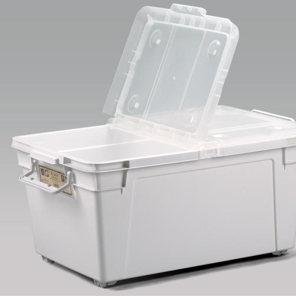 数量限定 収納ボックス フタ付き プラスチック フリップボックスL66|livewell|18