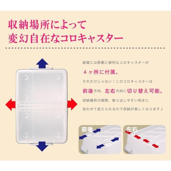 数量限定 収納ボックス フタ付き プラスチック フリップボックスL66|livewell|07