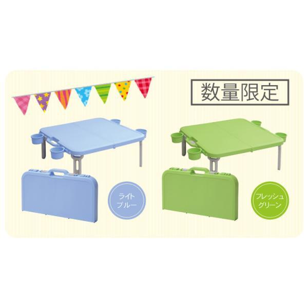 折りたたみ ピクニックテーブル 運動会 バタフライレジャーテーブル角型+バタフライバッグセット|livewell|11