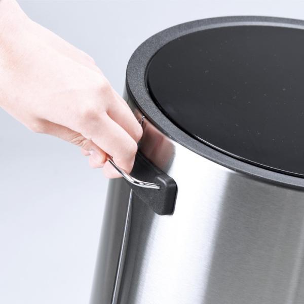 送料無料 ポイント消化 ペダルペール ゴミ箱 ごみ箱 おしゃれ ペダルペール丸12L|livewell|04