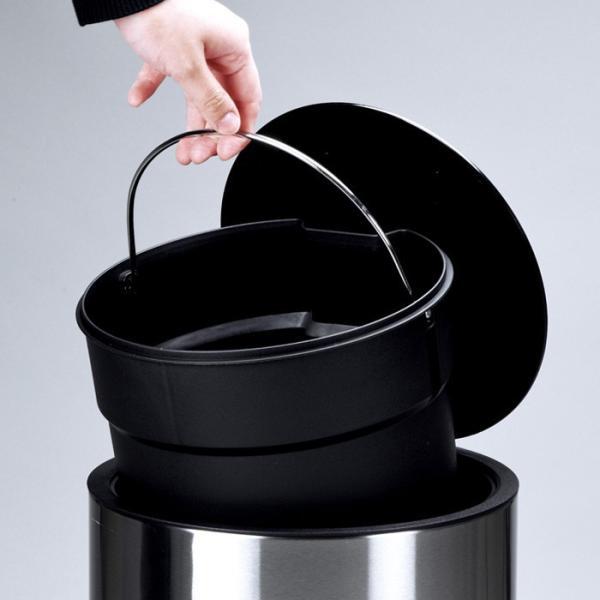 送料無料 ポイント消化 ペダルペール ゴミ箱 ごみ箱 おしゃれ ペダルペール丸12L|livewell|05