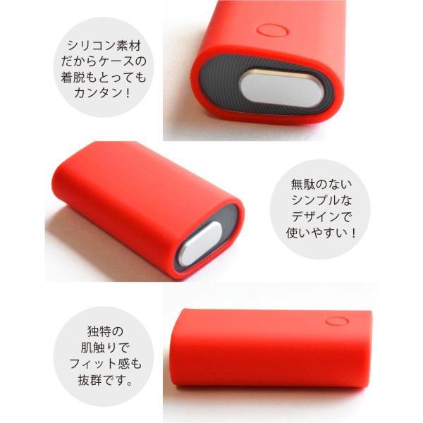 glo グロー ケース ライトの点灯が見える グロー カバー シリコン 電子タバコ gloケース シンプル glo スリーブケース グローケース|liviewmall|05